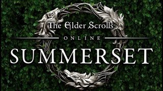 "The Elder Scrolls Online (Summerset)  ""Sinking Summerset"" quest gameplay(PC)[HD](PL)"