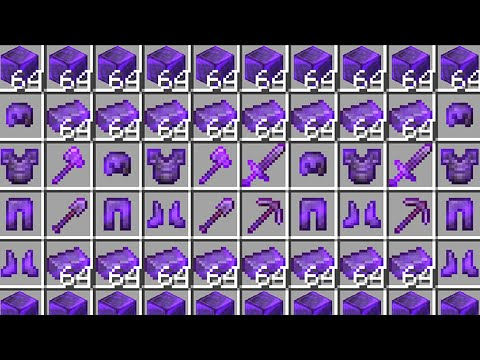 Minecraft UHC but the entire world is netherite..