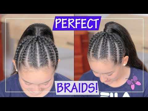 Ponytail hairstyle: Dutch Braided Ponytail | How to Braid for Beginners | How to Braid like a pro! thumbnail