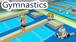 Gymnastics Team Try Outs !  Let's Play Roblox Fun Video Game Online