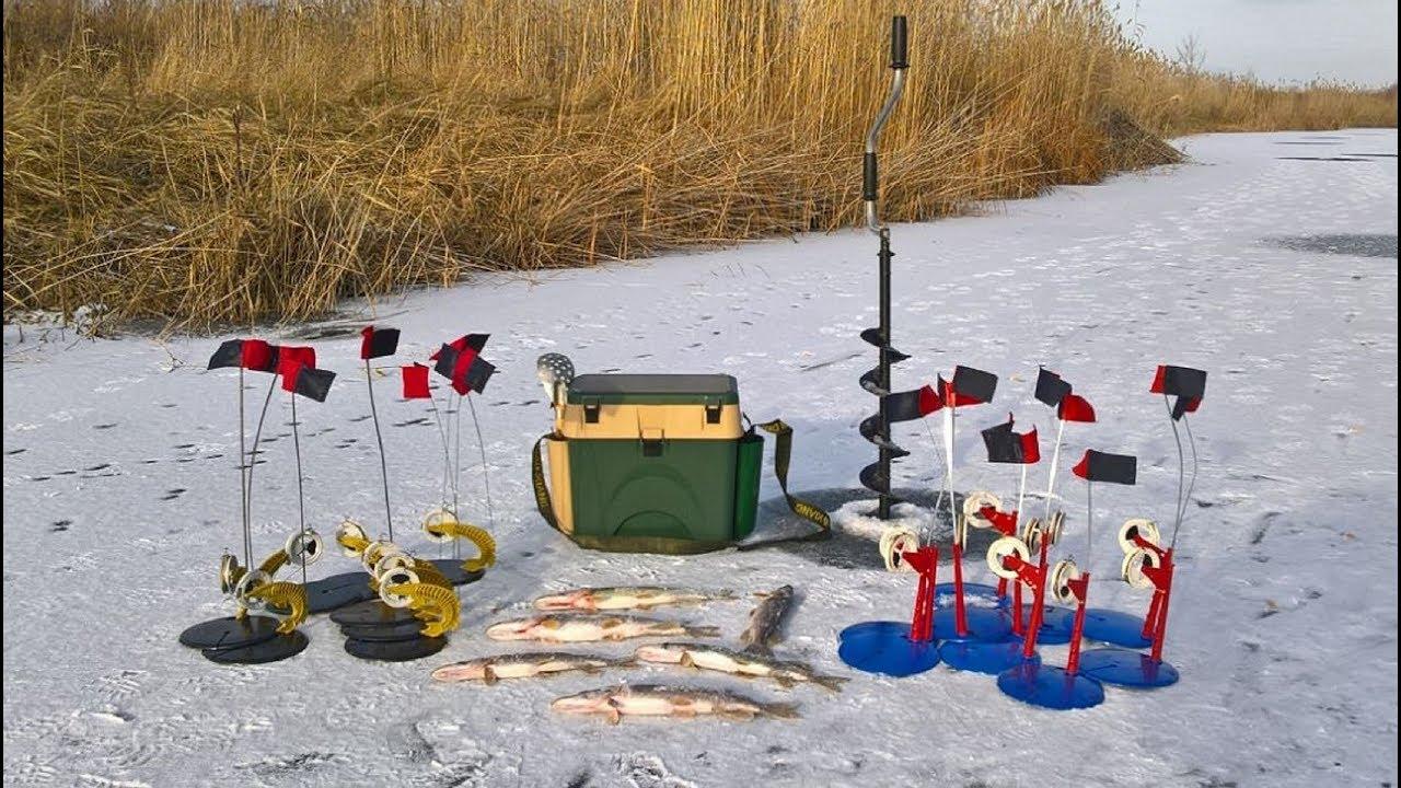 Ловля щуки зимой на жерлицы и обучающий видео сюжет