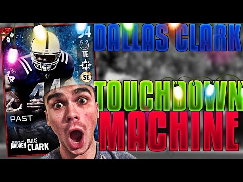 NEW DALLAS CLARK SHINES! HOLY TOUCHDOWN CATCH! MADDEN 17 ULTIMATE TEAM
