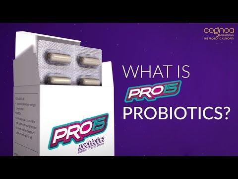 Cognoa - What is PRO15 Probiotics?