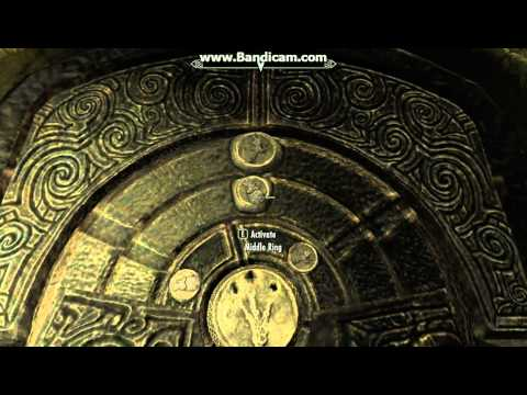Valthume catacombs first door skyrim iron claw