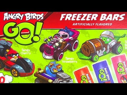 Angry Bids Go! Freezer Bars, Teenage Mutant Ninja Turtles Candy Pizza and MORE!