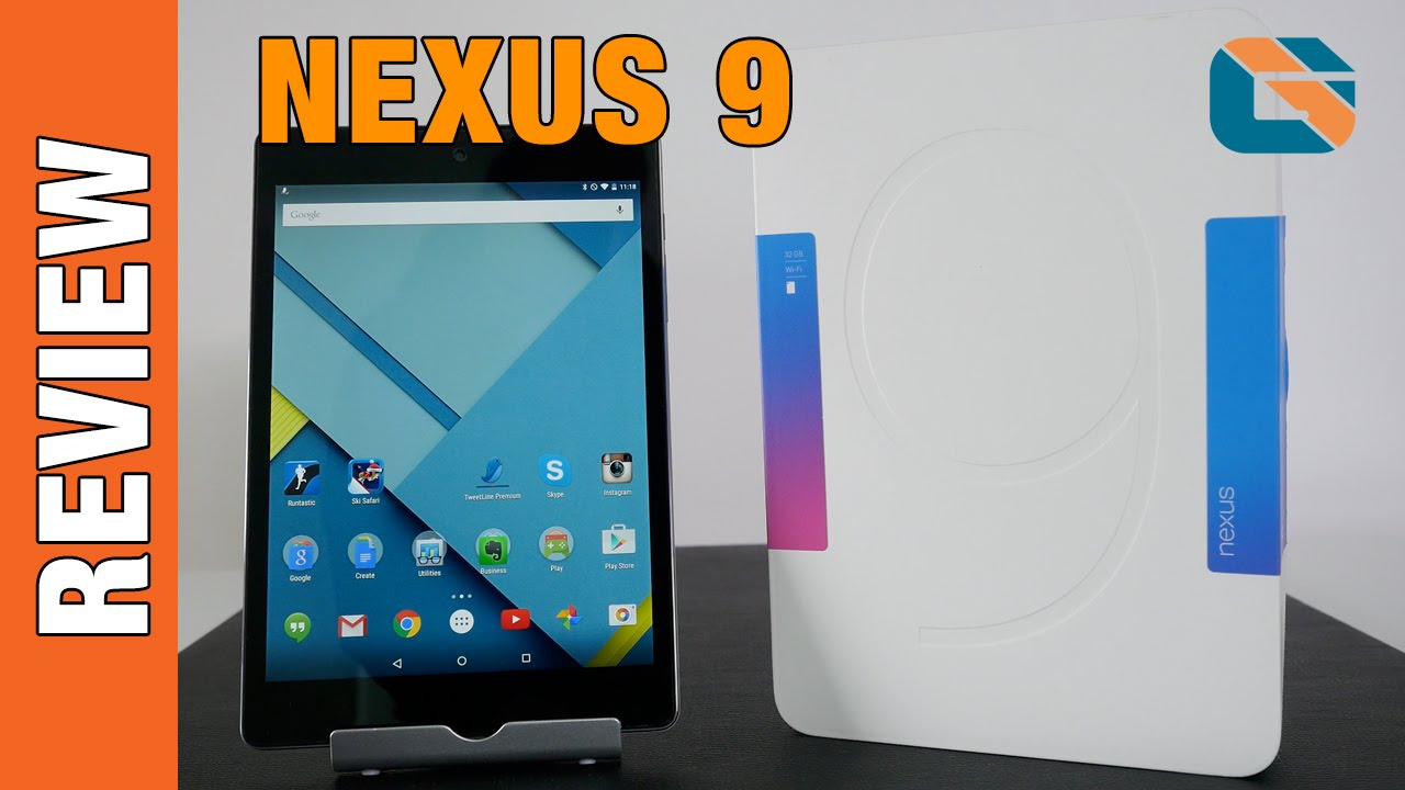 HTC Google Nexus 9 Review #Nexus9