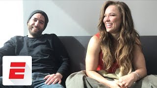 Ronda Rousey gets candid in exclusive sit-down interview before WrestleMania 34 | ESPN