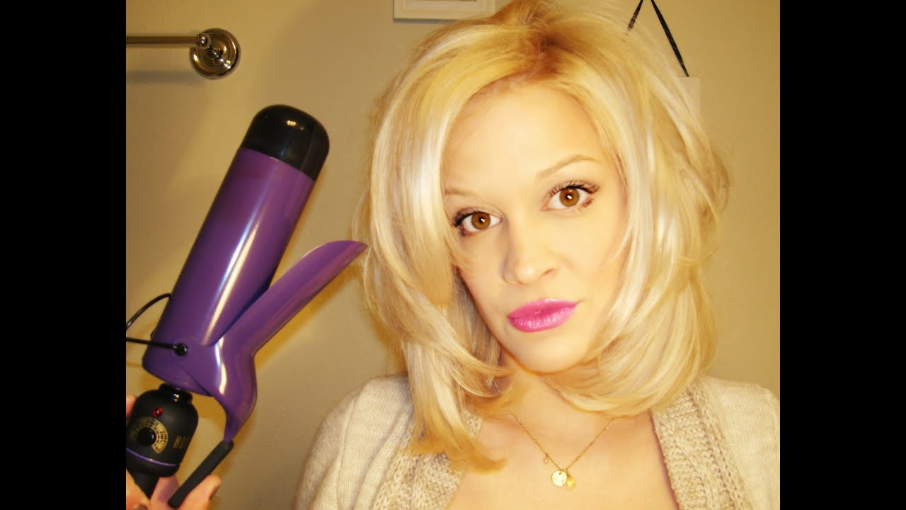 How To Curl Hair Amp Add Volume Youtube
