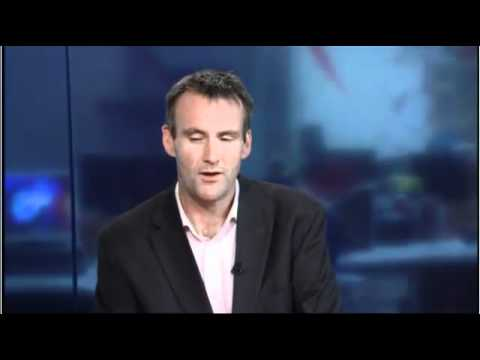 Bernard Hickey talks on TVNZ 7 news