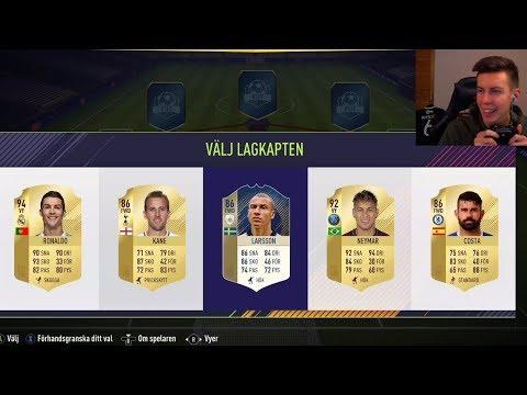 OMFG 2 IKONER!!! FIFA 18 DRAFT & PACKS! - FIFA 18 Ultimate Team på svenska