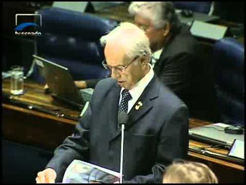 Pres. José Sarney e sen. Itamar Franco debatem encaminhamento da Votação do Salário Mínimo