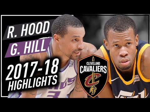 Rodney Hood & George Hill Offense & Defense Highlights 2017-2018 - TRADED to Cleveland Cavaliers!