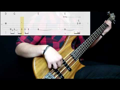 Billy Squier - Lonely Is The Night (Bass Cover) (Play Along Tabs In Video)