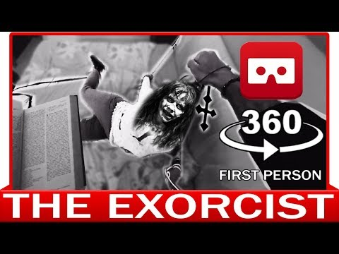 360° VR 4k - THE EXORCIST - HORROR - POV - CONJURING - VIRTUAL REALITY 3D