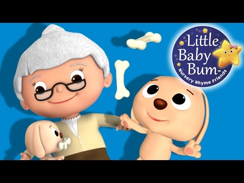 Old Mother Hubbard  | Nursery Rhymes | By LittleBabyBum!