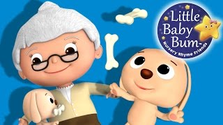 Old Mother Hubbard  | Nursery Rhymes | By LittleBabyBum