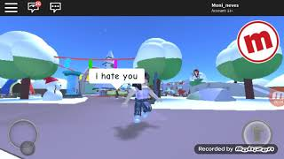 Playing Meepciti on ROBLOX
