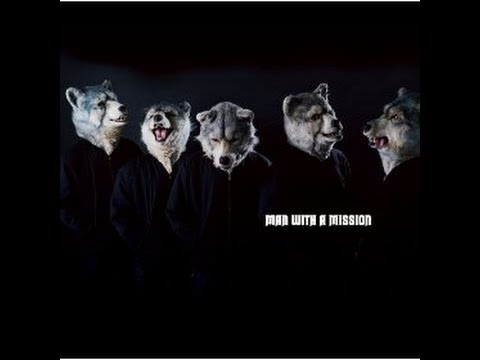 【カラオケ】MAN WITH A MISSION / RAIN OF JULY