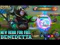 Next New Hero Benedetta Gameplay - Mobile Legends Bang Bang
