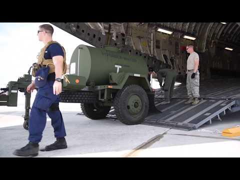Coast Guard Port Security Unit 308 mobilizes to Key West, Florida