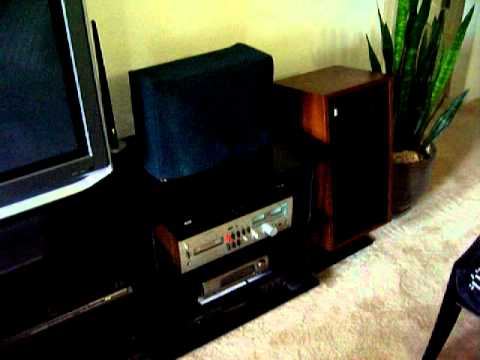 The Fisher XP-66C Vintage Speakers Demo
