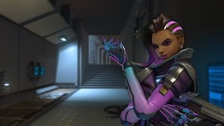 Overwatch - Sombra Gameplay (No Commentary)