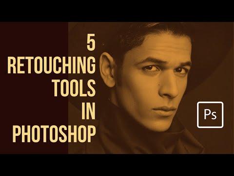 Photoshop - 5 Basic Retouching Tools