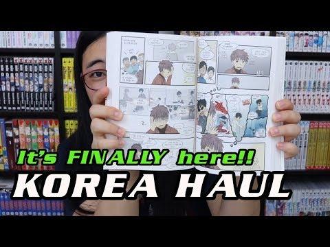 It's finally here!! ★ HUGE Korea Manga etc Haul