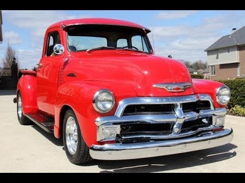 1954 chevrolet 5 window pickup for sale - youtube