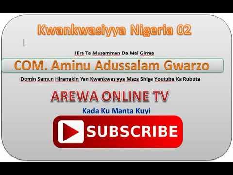 Download Hirar Comm. AMINU ABDUSSALAM GWARZO, Gwarzon Kwankwasiyya.