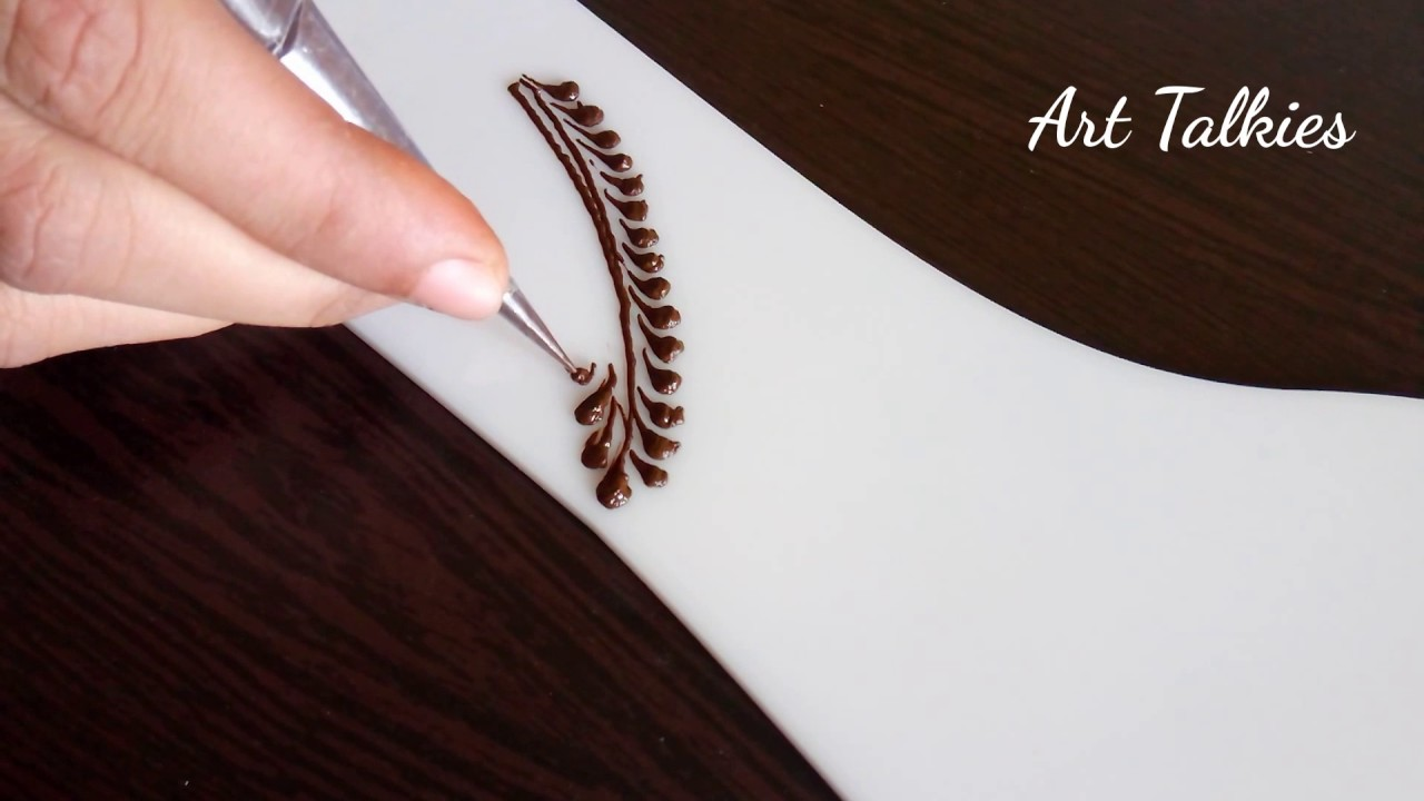 How to Draw Mehendi Strokes for Beginners - YouTube
