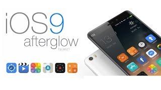 iOS9 Afterglow, ¿el mejor tema para MIUI 7?