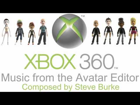 XBOX 360 Avatar Editor Background Music