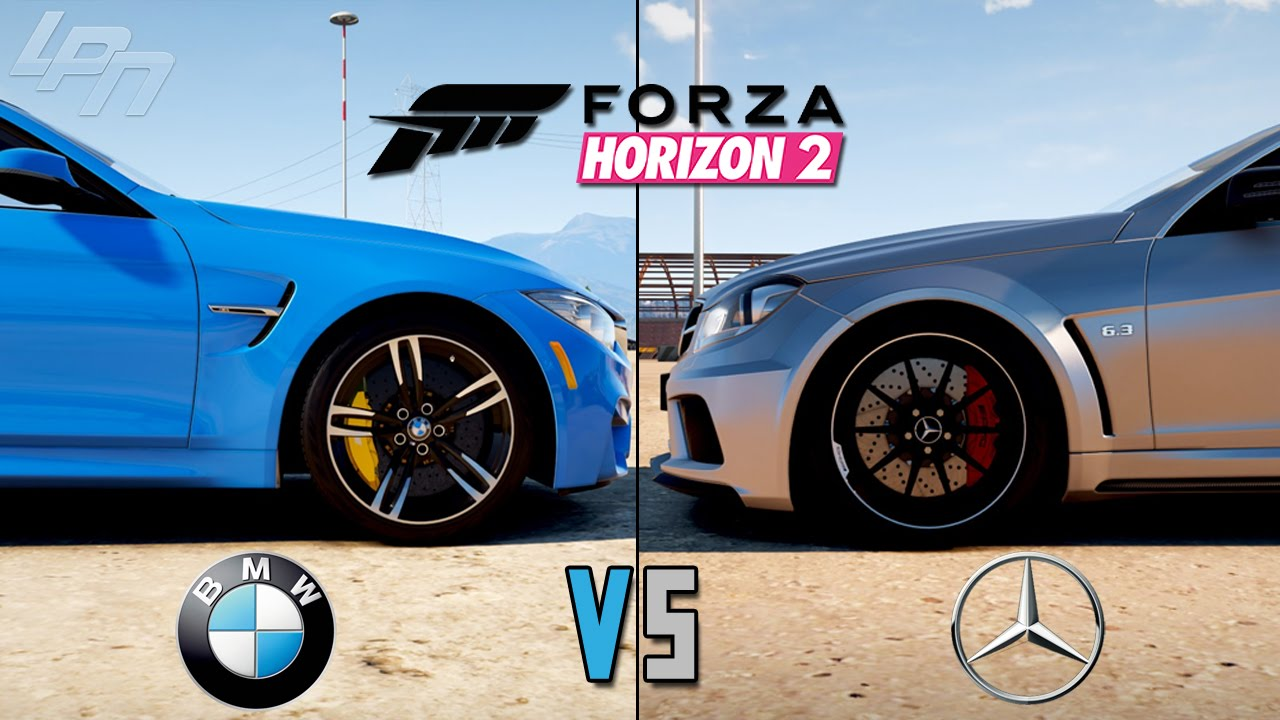 forza horizon 2 bmw vs mercedes xbox one lets play forza horizon 2 youtube. Black Bedroom Furniture Sets. Home Design Ideas