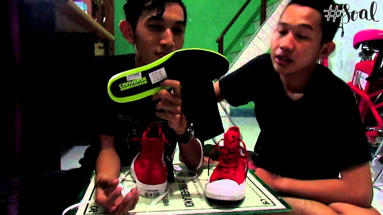 44e96aaa9d0a SOAL 68 - Converse All Star Chuck Taylor II - YouTube