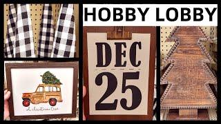 HOBBY LOBBY HALLOWEEN & CHRISTMAS DECOR 2019 | VLOGTOBER 2019