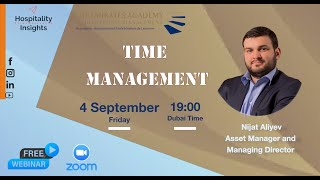 Time Management | Nijat Aliev