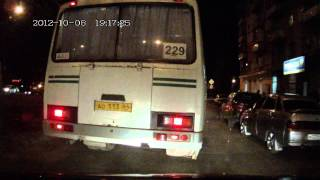 бухарик и автобус