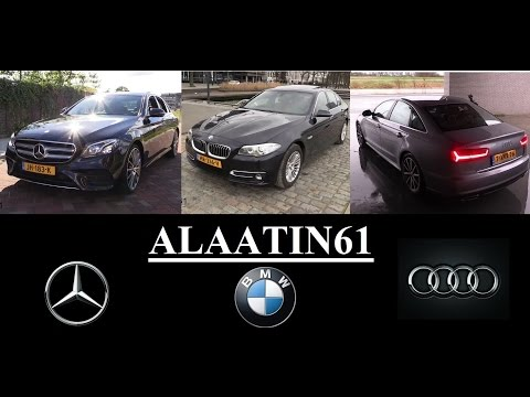 Mercedes-Benz E Class vs Bmw 5 Series vs Audi A6 Review