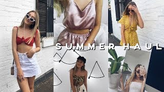 HUGE SUMMER HAUL 2018 // Fashion, Swimsuits, Accessories and more!