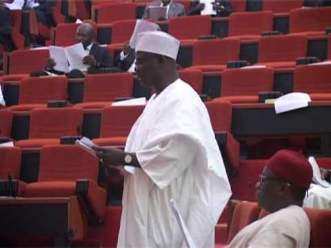 7th June 2016  Senator Ali Ndume   Senate Leader  leads the debate on a Bill for an Act to Amend the