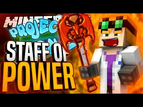 Minecraft - STAFF OF POWER - Project Ozone #191