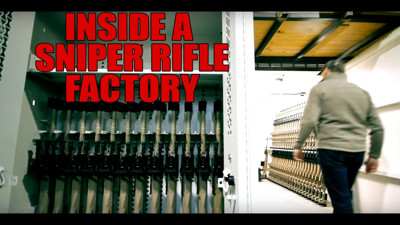 Look Inside A Sniper Rifle Factory!! (PGW Defence Technologies)