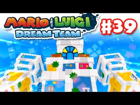 Mario & Luigi: Dream Team - Gameplay Walkthrough Part 39 - Earthwake Boss Fight! (Nintendo 3DS)
