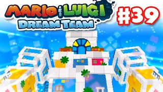 Mario & Luigi: Dream Team - Gameplay Walkthrough Part 39 - Earthwake Boss Fight! (Nintendo 3DS)