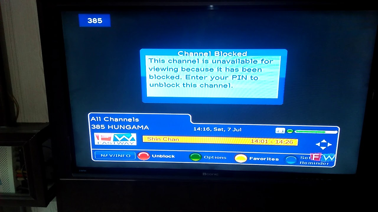 How to unblock any channel on fastway set top box