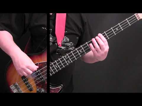 How To Play Bass Beginner's Songs – Wild Thing ( Part 2 of 8