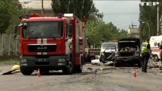 видео Взрыв в Киеве 27 июня 2017 попал на ВИДЕО