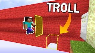 UN PASSAGE PIÉGÉ DANS NOTRE BASE ?! | Minecraft Bed Wars Troll