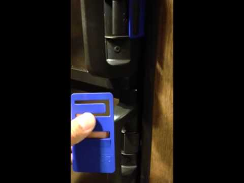 How To Use Blue Tabs To Keep Dometic Refrigerator Doors